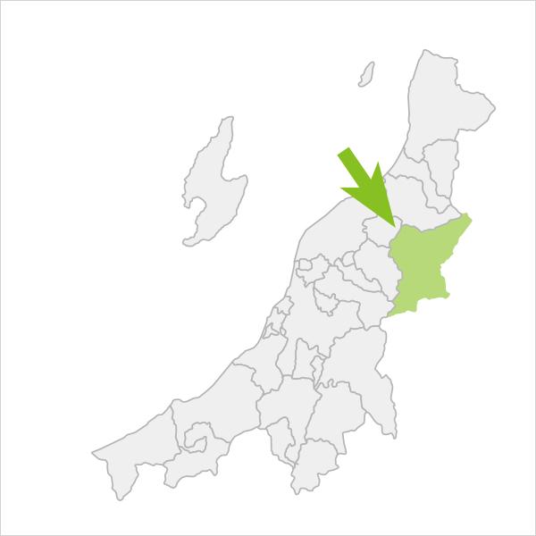 阿賀町の位置