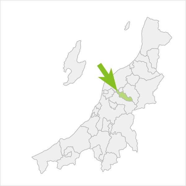 加茂市の位置